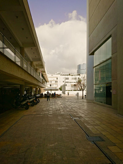 Architecture Building Exterior Built Structure City Day Habima Square No People Outdoors Sky Tel Aviv