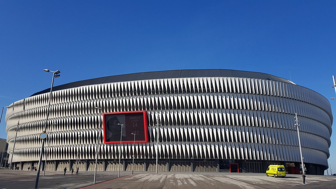 Nuevo San Mamés Estadio Futbol Sky Day No People Architecture Outdoors
