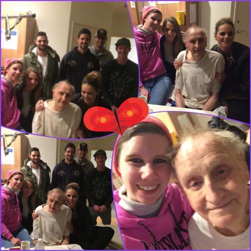 Visiting Grandad in hospital 💚 Visiting Grandparent Família Family Familyphoto Hospital ThesemomentsIcherish Grandad 💜💙💚