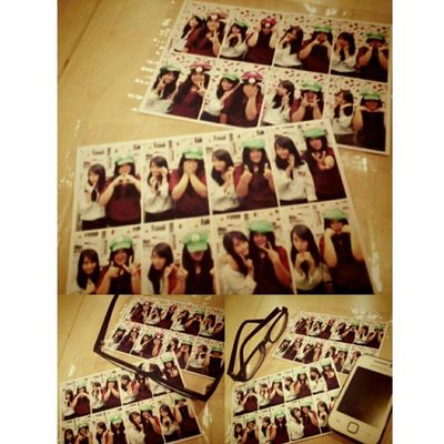 Photobox w/ @chiistin1901 ^^ ♥(〃∇〃) Me Selca TakeAPhoto Takeaselca today with cristin girls beauty cute nice smile pages L MarioBross cap red blue long black hair indonesian instapict tags4love likeme followme
