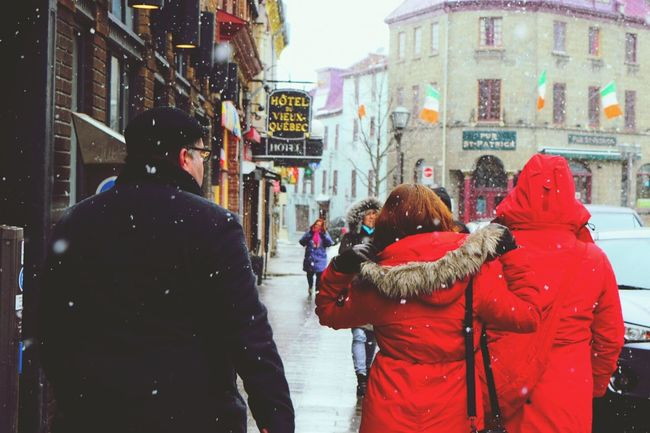 Still cold but spring;)♪ WHiTE WORLD Its Cold Outside Exciting Adventures Quebec City , Canada