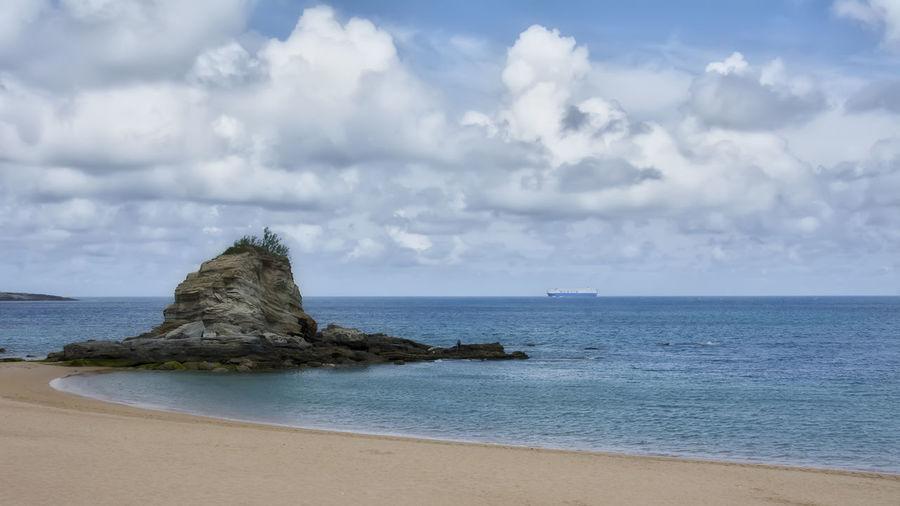 Beach Beauty In Nature Horizon Over Water Nature Playa De El Camello Scenics Sea Tranquil Scene
