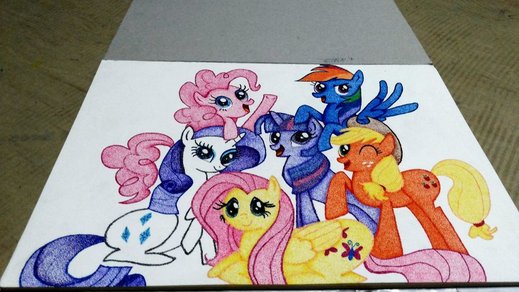 My Little Pony Relaxing Art.