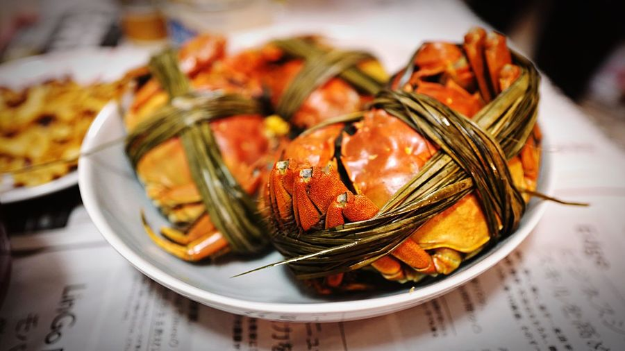 Shanghai crabs HongKong Discoverhongkong Food Foodporn Leica Leicaq Crab 上海蟹 香港 ライカ
