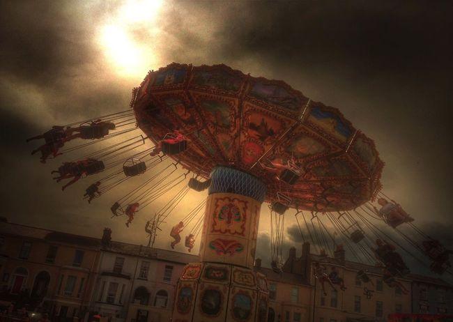 Chair O Plane Funfair Carnival Dramatic EyeEm Best Edits