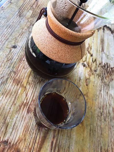 Coffee Break Handbrewcoffee Bodum Relaxing Moments Coffee ☕ Coffeelover Wood - Material Enjoying Life Tadaa Community Tadaa Friends