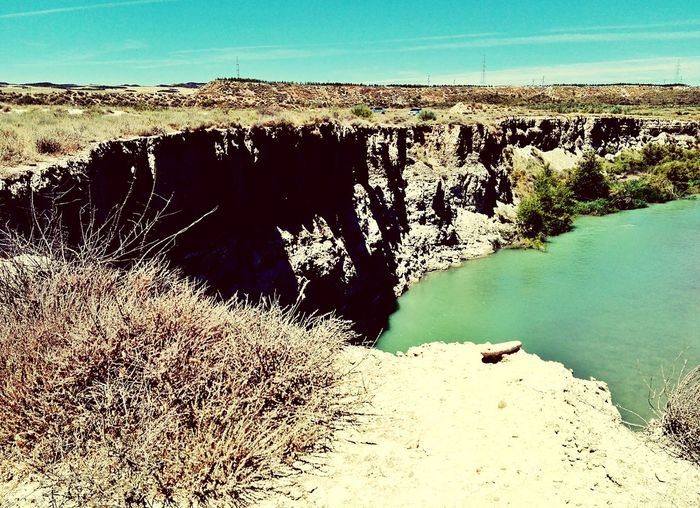 Holiday♡ Spain Is Different Travel Holiday Rock Formation River Beauty In Nature Water
