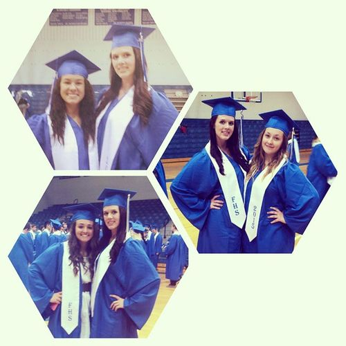 🎓Its alomst serreal that we are all graduating in 35 days!!!🎓 These girls have been such great friends to me!! @angel_leeanne you have been my best friend for three years and even when we fight you're still the first person I tell everything to!! Love you!!! @cricketthawise oh Lizbian what can I say? You have become lile family to me its hard to believe that I hated you once upon a time!! Love you!!! @molllyy15 my Molly Gail!! Thanks for being there for me last year!! You definitely helped me through last year!! I could always count on you! You listened to me whine about that person in mr Ashlin's and never got mad!!!