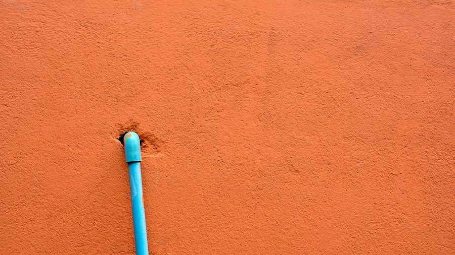 Pipe Wall Old Industrial Tube Background Construction Industry Lead Texture Technology Urban Dirty Engineering System Control Factory Valve Cement Object Space Backdrop Architecture Home Work LINE House Equipment Power Energy Plastic Blue Exterior Orange