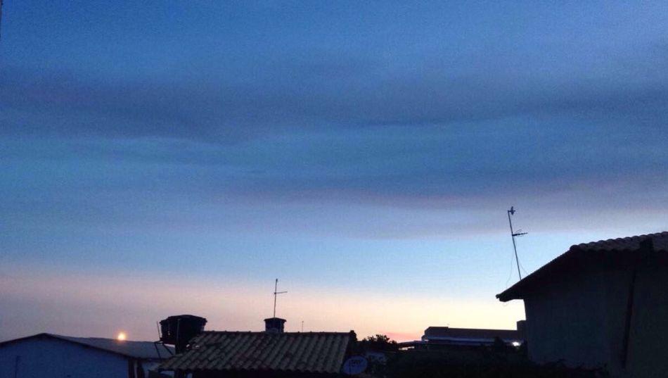 Azul! 💙 Sky Blue Sky Sunset Bsb