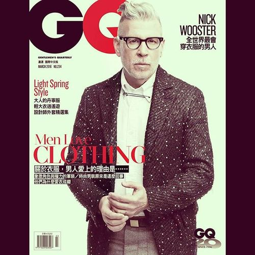 Fashion for the elderly👴👴 Nickwooster 全世界最會穿衣服的男人