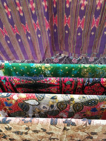 Multi Colored Backgrounds Full Frame Pattern No People Indoors  Day Close-up Thai Fabric Thai Fabric Pattern ผ้าไทย ผ้าปาเต๊ะ