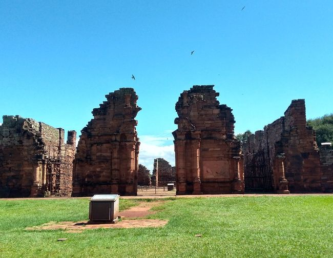 Ruinas de San Ignacio. Architecture Green Color Day