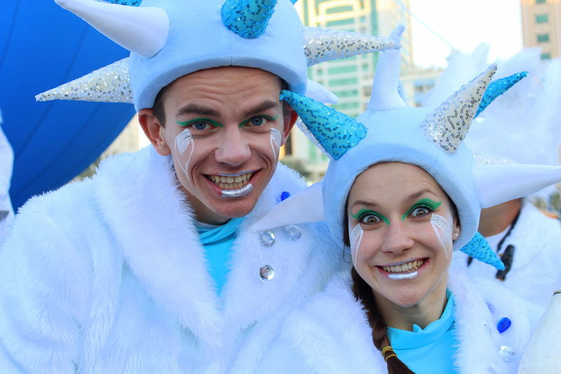 Blue Clowns Cute Enjoyment EyeEm EyeEm Best Shots EyeEm Gallery Fun Happiness Happy People Leisure Activity Lifestyles Performer  Person Portrait Smiling Toothy Smile Showcase July People Together People Together By August 3 2016