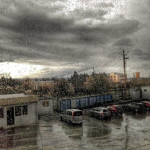 весна Spring март Дождь Rain гроза небо ливень вечер солнце тучи капли окно Стекло Glass Window Photo капельки Тбилиси  Tbilisi Tbilisiphoto
