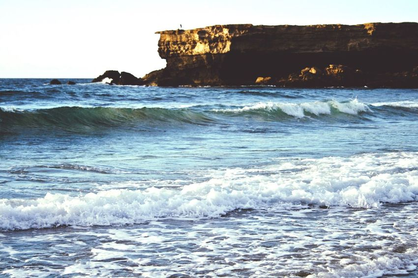 Open Edit Sea Stone Waves Beautiful Nature Great Views Abandoned Places Memories Traveling