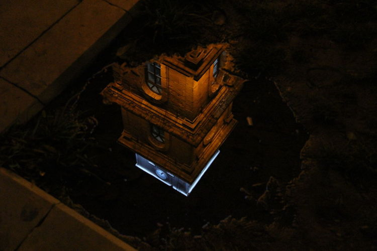 Bursa Saat Kulesi Close-up High Angle View Indoors  Night No People