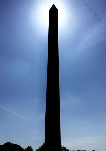 Low angle view of monument