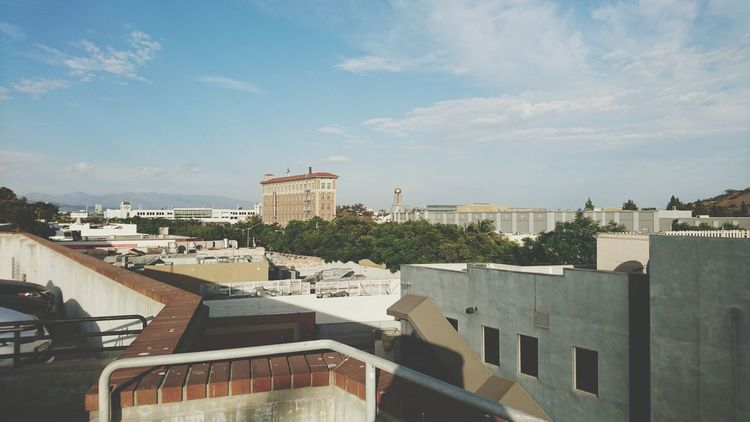 The beautiful Downtown Culver City. City Horizontal Travel Destinations Architecture Roof Urban Skyline Cityscape Outdoors High Angle View Downtown Culver City Los Angeles, California Culver Hotel Building Exterior Downtown Culver City Life Adapted To The City