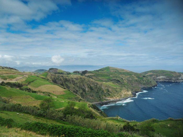 Sao Miguel-Azores Landscape_photography Ocean View Land And Sky São Miguel - Açores