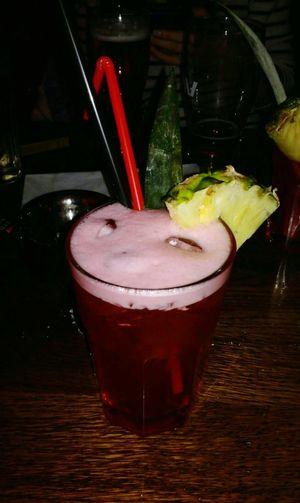 Cocktails🍹 Cocktail Night Ananas 👌 Mai Tai Red Visual Feast