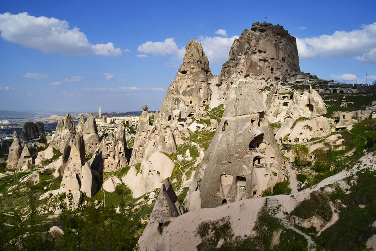 Stone house in Cappadocia, Turkey Architecture Nature Day No People Stone House Stone Houses  Cappadocia/Turkey Cappadocia Turkey Landscape