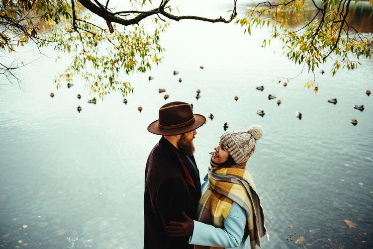 Autumn romantic mood
