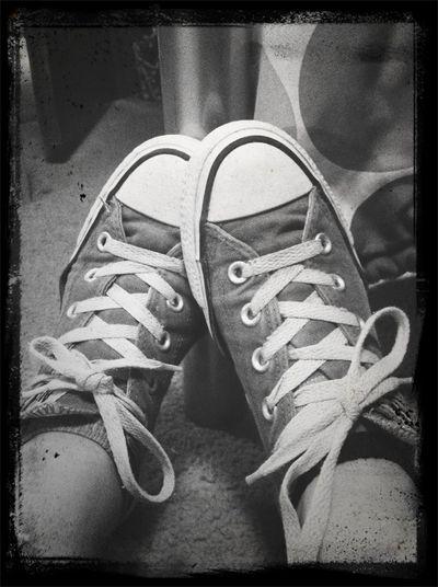 Converse are a girls best friend<3