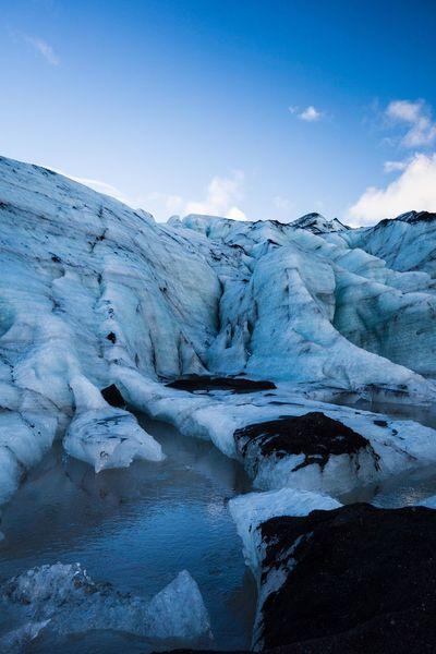 Glacier Lake Iceland Nature Beauty In Nature Cold Temperature Ice Scenics Winter Frozen Water Snow Glaciers Sky Tranquility Frost Non-urban Scene Landscape Glacier Day Outdoors No People Iceberg