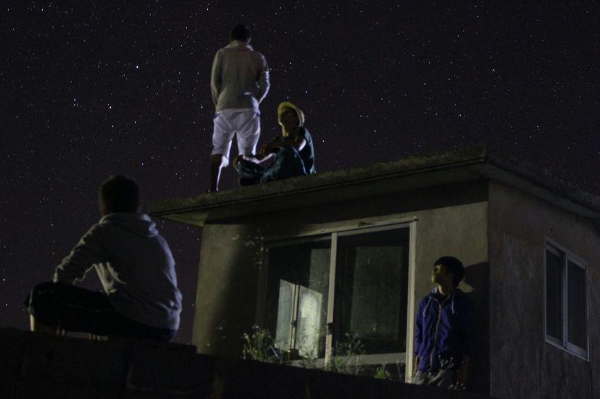 修学旅行 沖縄 伊是名島 Japan 星 Star 星座観察 綺麗でした