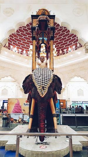 Ibn Battuta Elephant Ride Elephant Clock India Court Elephant Art Clock India Elephant