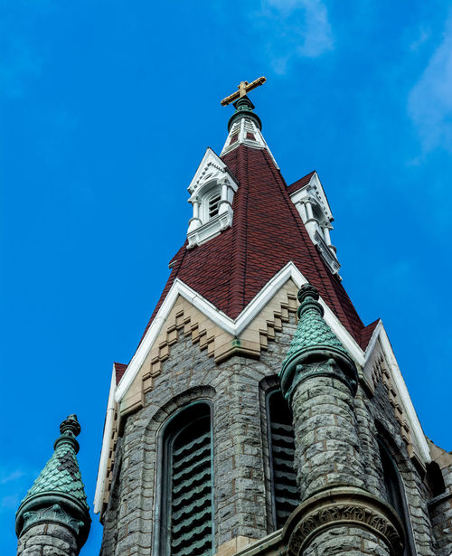 Religious building architecture - church art. Center city Philadelphia. Well built. Architecture Building Exterior Built Structure Church Craftsmanship Abstract Gorgeous Day Place Of Worship Religion