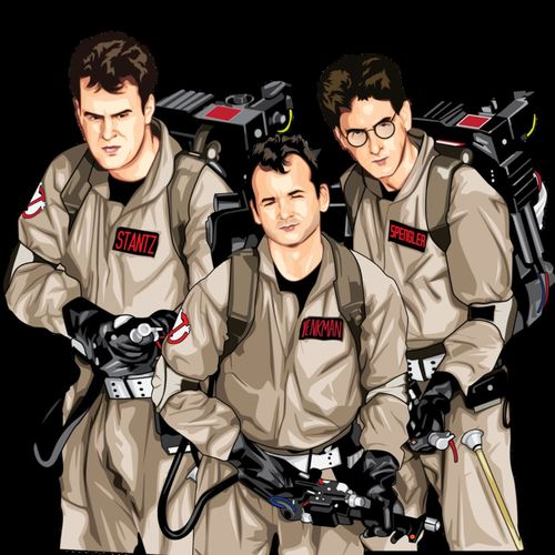 #ghostbusters vector art just done. Just doing winston now ;) Ghostbusters