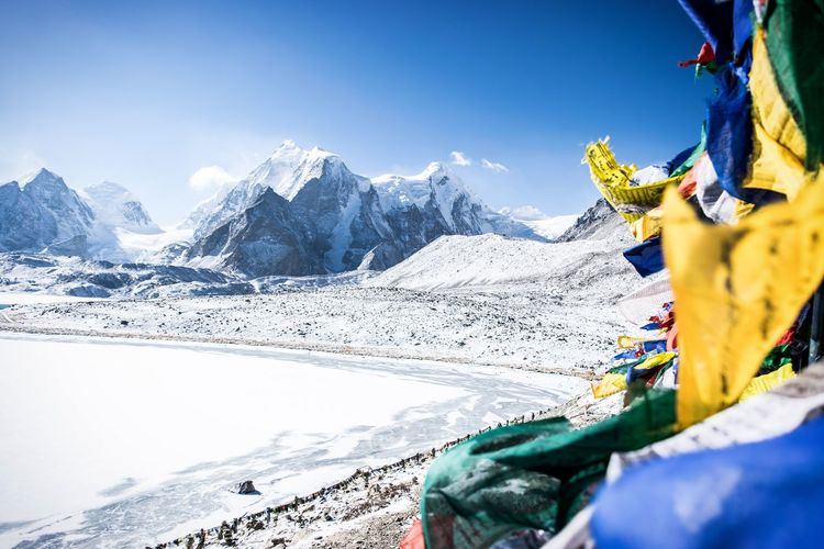 Memoires de sikkim adventures Mountain Sky Outdoors Snow Day Vacations Beauty In Nature Cold Temperature NatureSikkim Travel Beauty