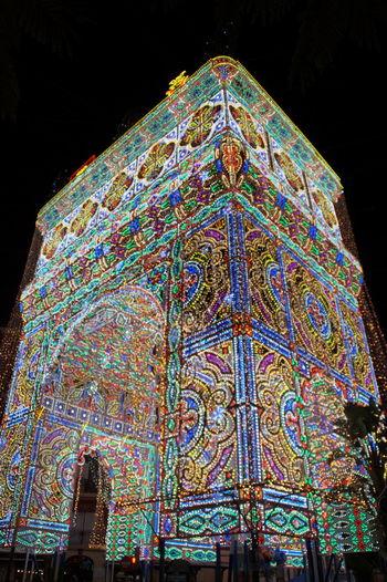Calles Iluminadas Comunidad Valenciana Comunitat Valenciana Espana-Spain España🇪🇸 Falla Sueca - Literato Azorín Fallas 2016 Illuminated Lighting Effects Night Pattern Regne De Valencia Reino De Valencia Valencia, Spain