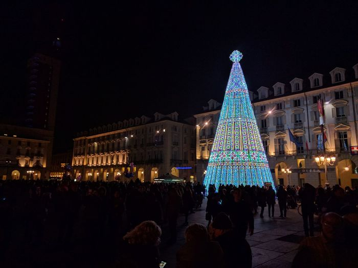 Torino is ready for Christmas! Night Christmas Illuminated Christmas Lights Christmas Tree Tree Torino Ready For Christmas