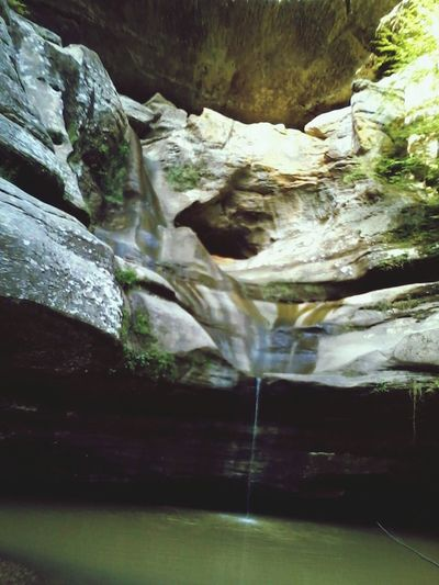 Beautiful Ash Cave Waterfall Hocking Hills State Park Ash Cave Nature Tranquility Waterfalls And Calming Views