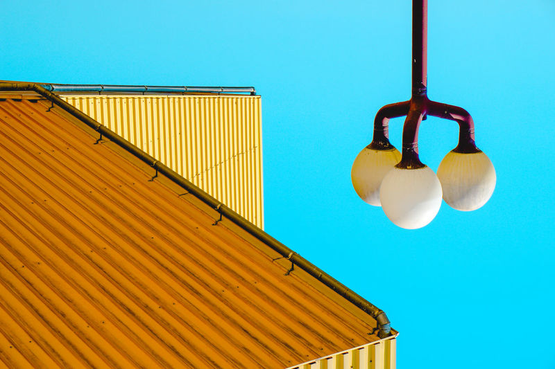 Architecture Light And Shadow Hanging Blue Sky Corrugated Iron Corrugated Beach Building Residential Structure Driftwood
