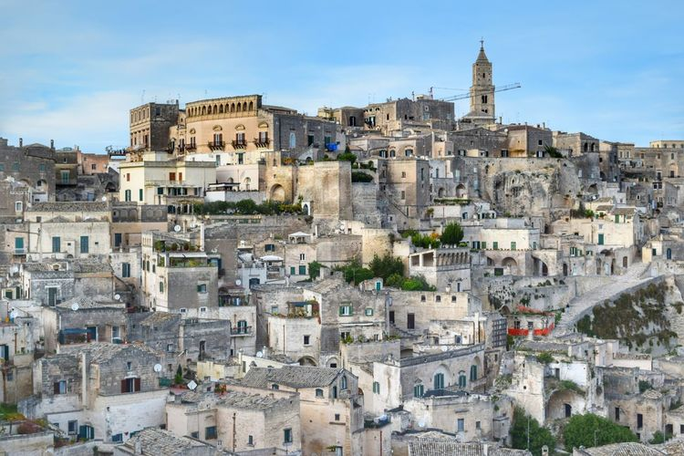 Matera Italia Italy Basilicata, Italy  UNESCO World Heritage Site Matera - Capitale Della Cultura Matera - Italia Matera Italy Matera2019 Ancient Civilization Ancient Architecture Cityscape High Angle View Travel Destinations Built Structure Old Town Travel Town Cloud - Sky Sky Building Exterior Architecture Sassi Di Matera City Ancient History