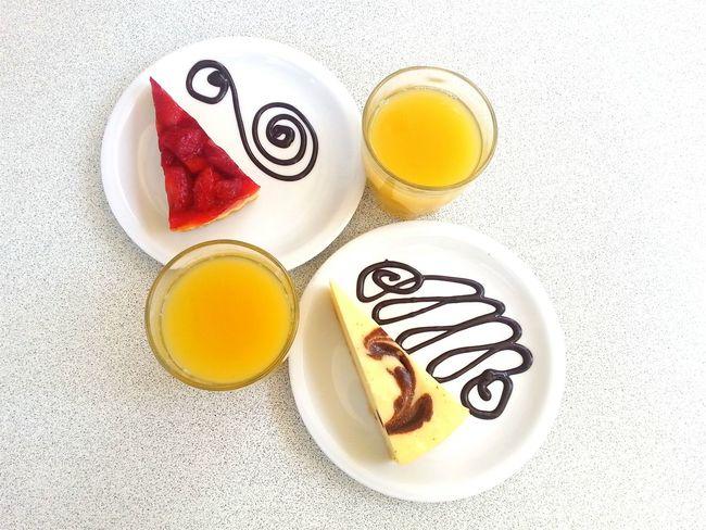 Colazione Cheesecake Succo Breakfast Juice Gnammi Sole Terrazza :)