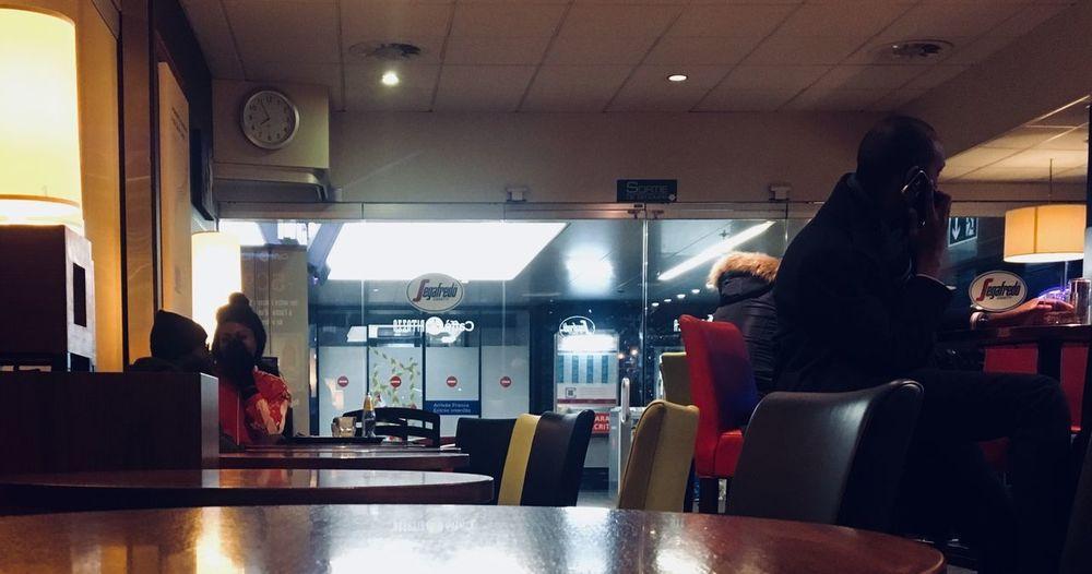 Train station café The Week On EyeEm