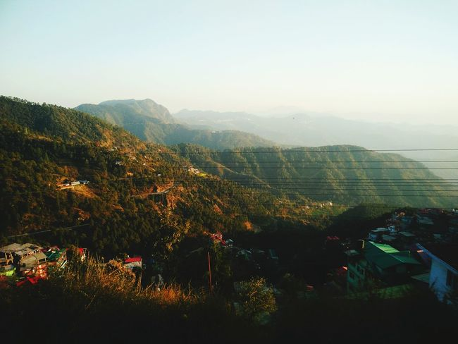 View from Kalka-Shimla Toy Train! Outdoors Fog Sky Travel Destinations Tree No People Landscape Nature Day View From Toy Train Scenics Beauty In Nature Nature Flying High