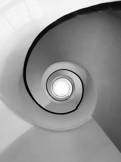 Stairs Bw Bn B&w B&n Samsung Note 8 Spiral Staircase Architecture Close-up Built Structure