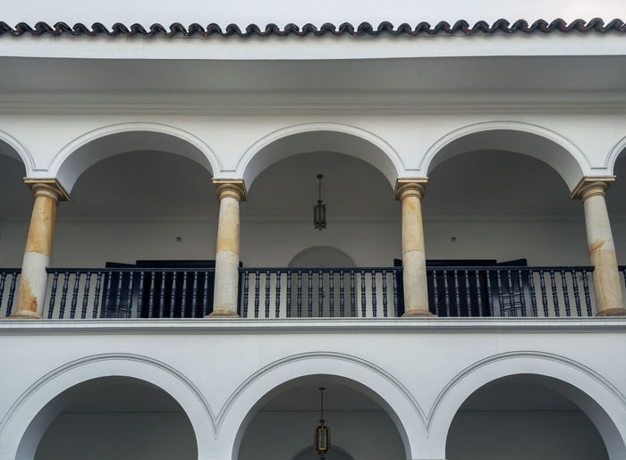 View of built structure