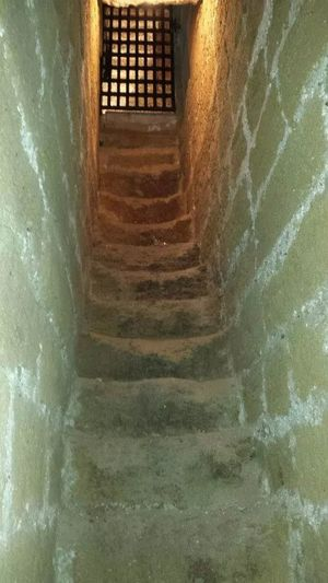 Stairs in the Mesagne's castle