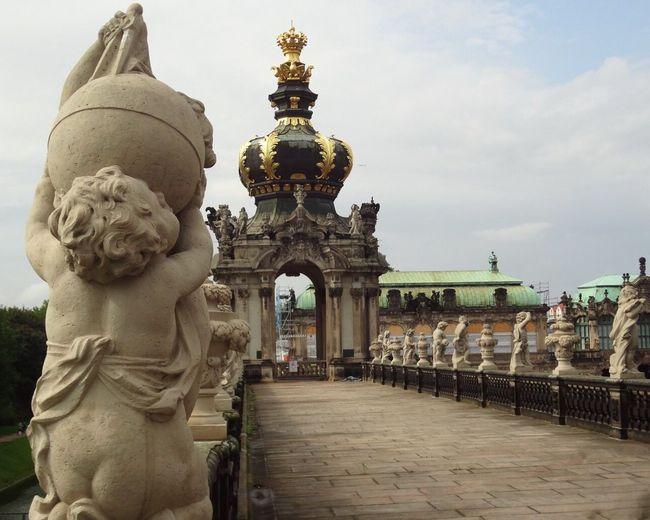 Sculpture Statue Architecture Germany Drezden Tourism