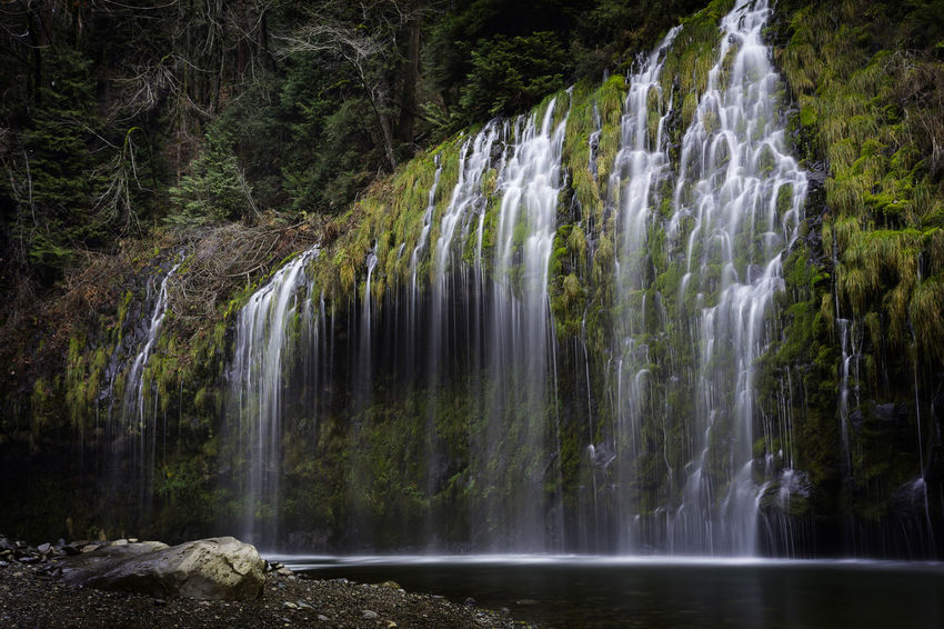 California Daytime Mossbrae Falls Nature Beauty In Nature Long Exposure Off The Beaten Path Outdoors Siskiyou County Waterfall