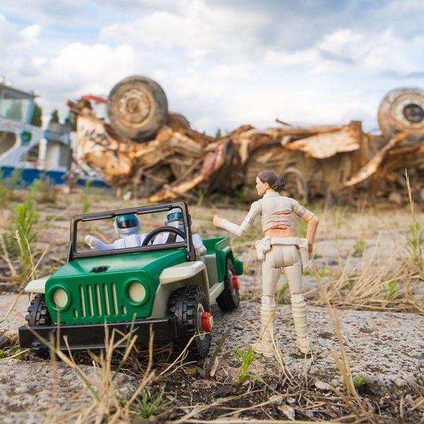 Autostop Jeep Naboo Daftpunk  Amidala vous pouvez me déposer ?