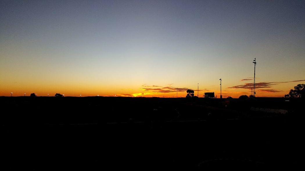 Sunset Broken Hill Speedway Saturday Outback Regional Outdoors No Filter Urban Spring Fever