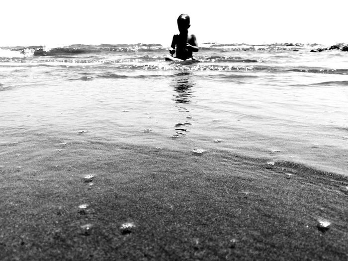 Grancanary Ocean Photography Ocean Waves GranCanaria Blackandwhite Photography Beach Sky Day Ankle Deep In Water Nature Silhouette Close-up Horizon Over Water Littlebudda
